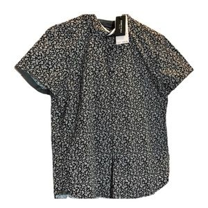 Kenneth Cole Casual Short Sleeve Button Down Shirt